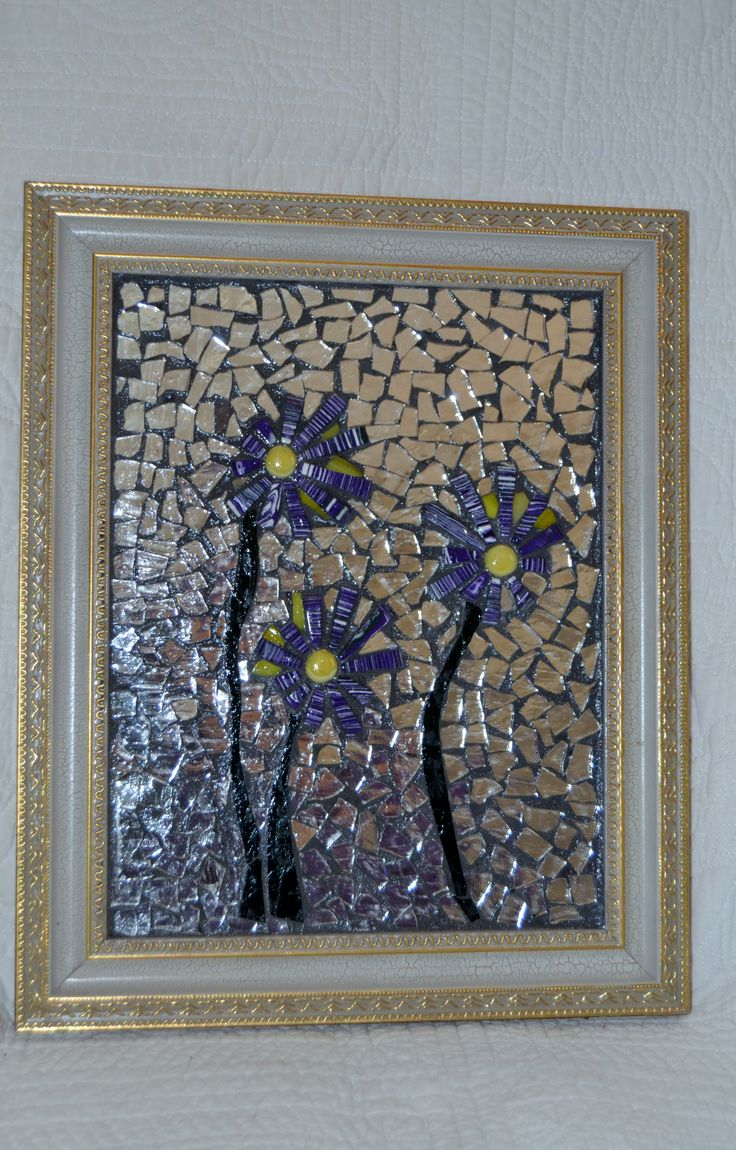 glass on glass mosaic by