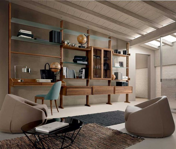 Dale Italia - Librerie modulari e pareti attrezzate per la zona living