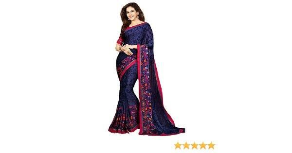 Xotic Enterprise... Women's latest Designer Chiffon Fancy Saree with Blouse By Xotic Enterprise ( Free Size)    #femalegears.com #random #lovethese #shopping #women #female