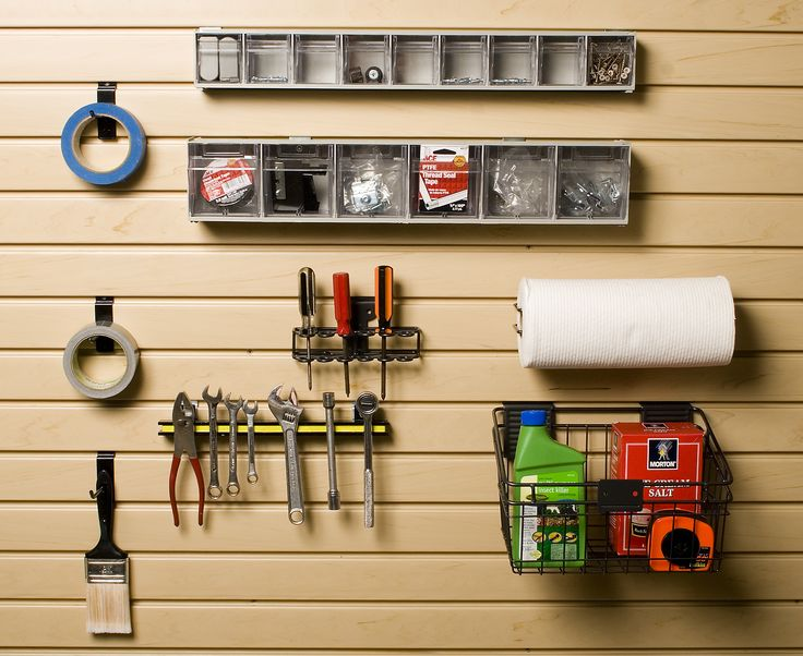 The Birmingham Handyman   Garage Storage Work Bench Accessory Kit