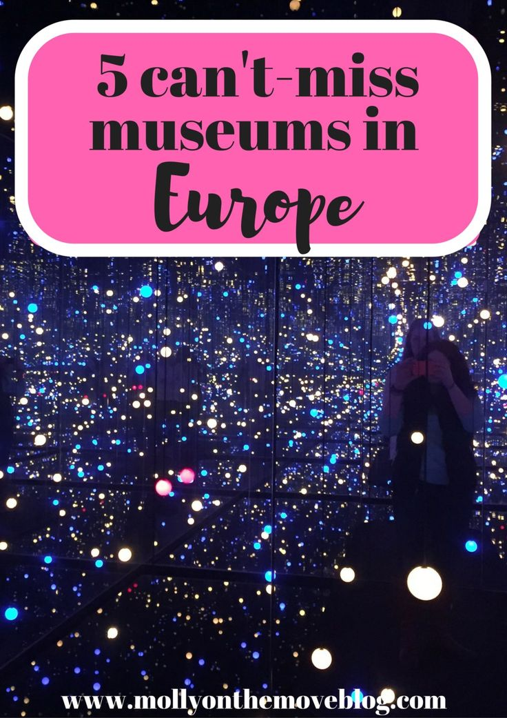Europe is full of so many incredible museums. Here are five can't-miss museums in Europe!
