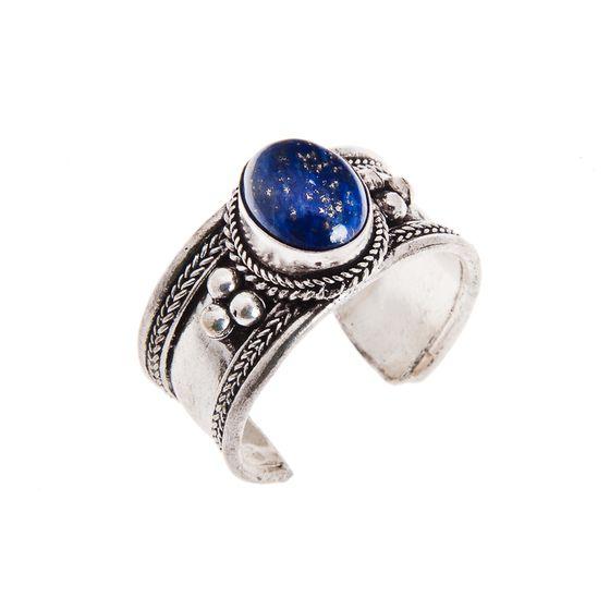 Twilight Lapis Lazuli Ring | Naked Faun Jewellery | £10 | www.nakedfaun.com