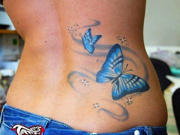 Tatuajes para espalda baja