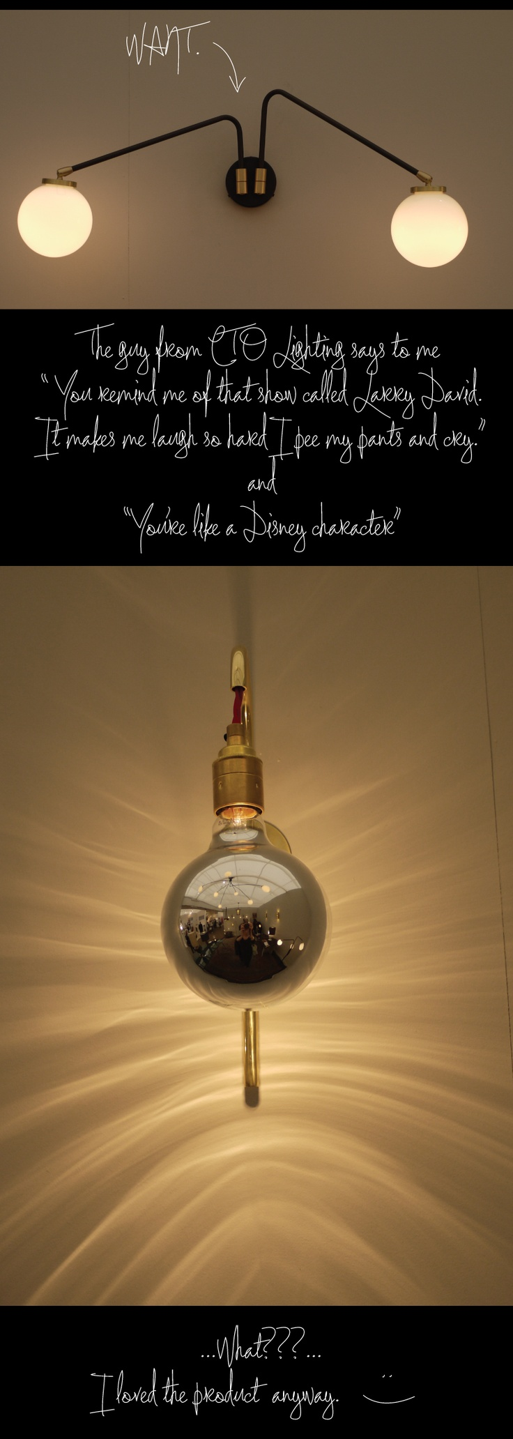 CTO Lighting at Decorex, from @Gary Meadowcroft YANG Dragoo's day 5 BlogTour post. #LDF11