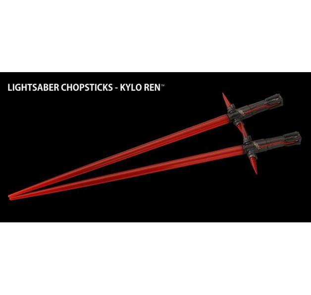 Star Wars Episode 7 Chop Sticks Kylo Ren Lichtschwert. Hier bei www.closeup.de