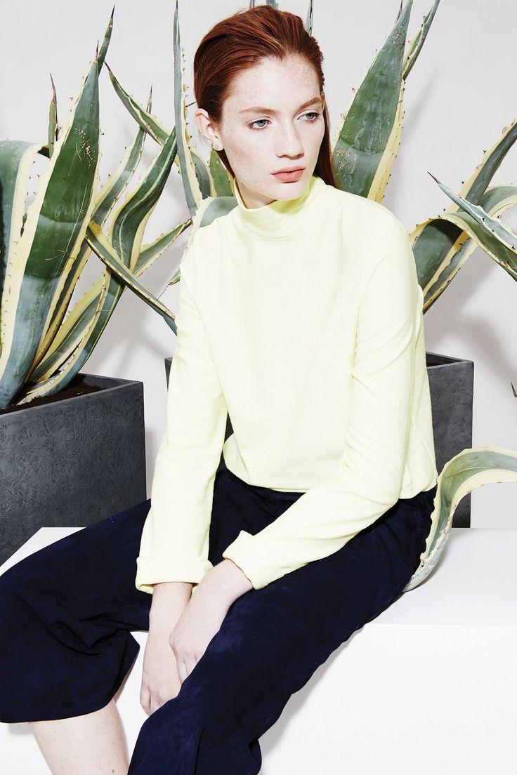 Look 8 - Yana Jersey Top | Anke Suede Culotte