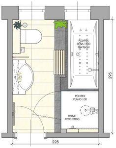 8x8 Bathroom Layout ~ Homedecorations | Plans petite salle ...