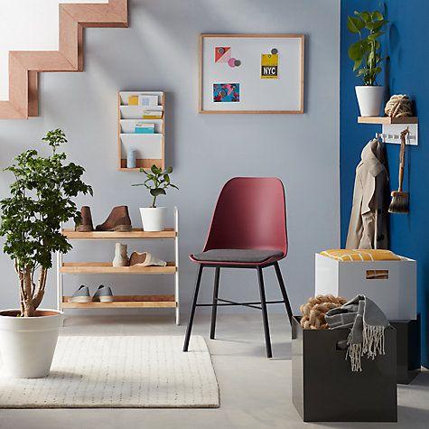 Buy House by John Lewis Hanging Mail Organiser, White Online at johnlewis.com
