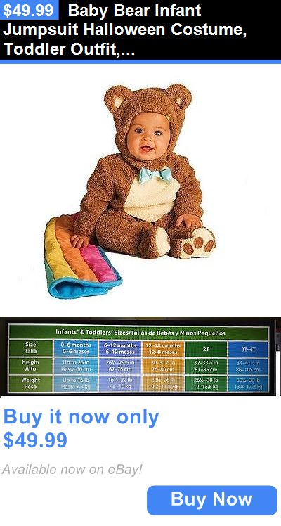 Kids Costumes: Baby Bear Infant Jumpsuit Halloween Costume, Toddler Outfit, For Birthday Party BUY IT NOW ONLY: $49.99
