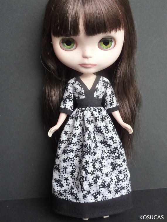 Dress for Neo Blythe dolls. por Kosucas en Etsy