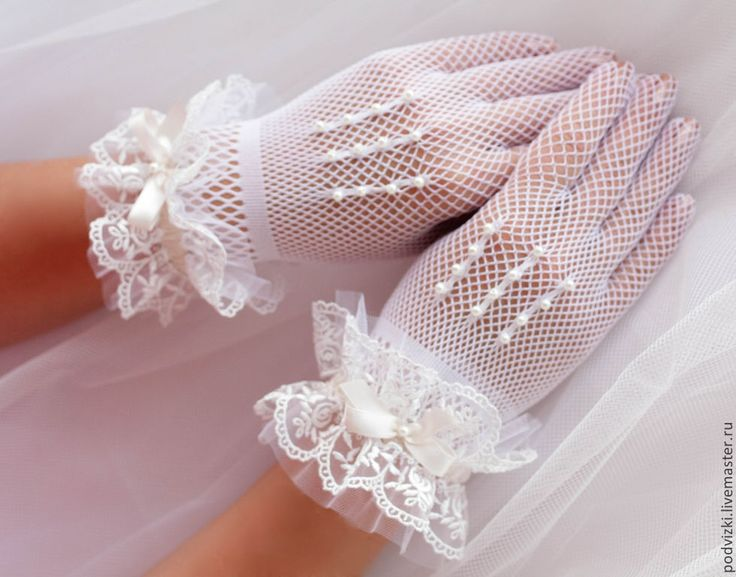 Купить Перчатки свадебные - перчатки, перчатки невесты, перчатки ...