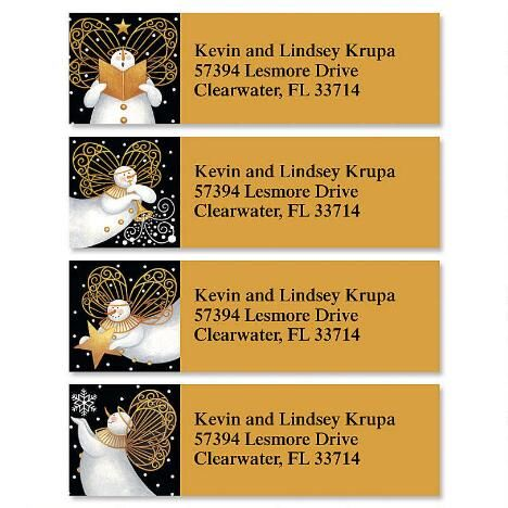 Snow Angels Classic Address Labels(4 Designs) $7.99