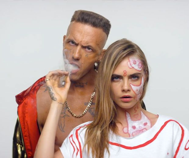 We can't get enough of Cara Delevingne's acting skills in Die Antwoord's new music video Ugly Boy. Is there anything she can't do?!