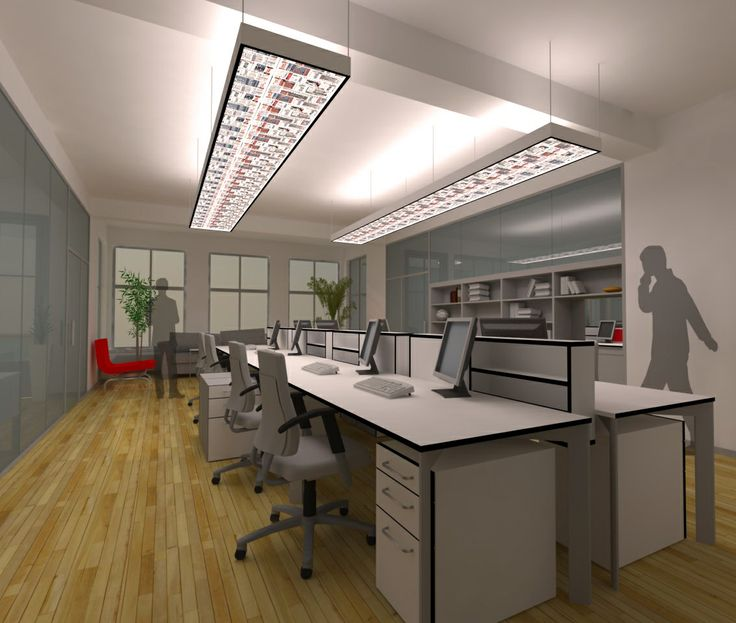 open office concept for a newspaper office