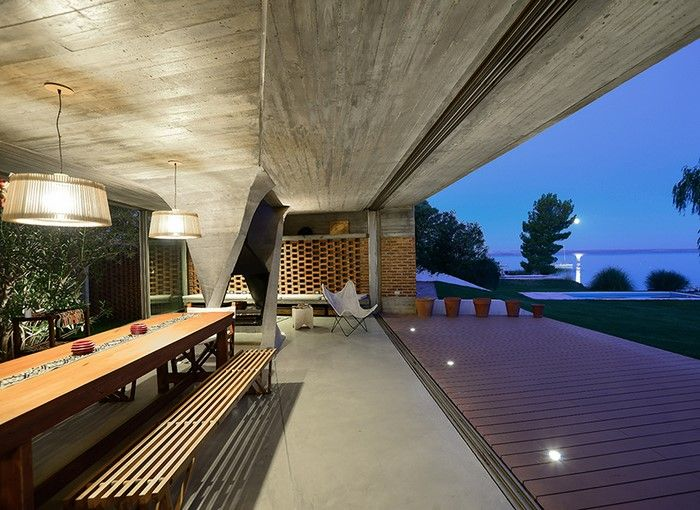 Amazing Outdoor Cooking and Dining Area.