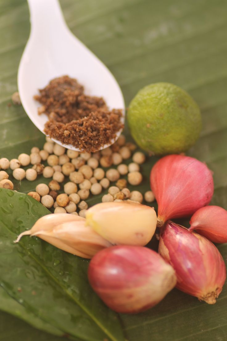 Sebagian bumbu dapur Indonesia / Some of the spices for Indonesian cuisine