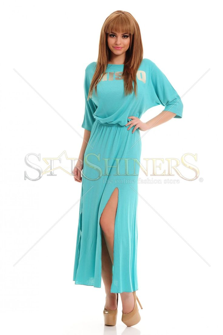 MissQ Happy Thoughts Turquoise Dress
