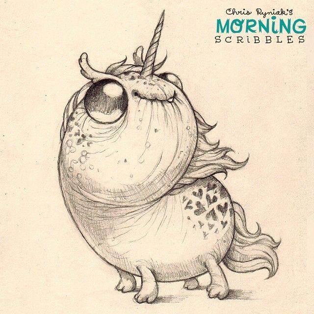 "Follow up to last week's popular ""sparkle pony magic"" drawing, I present…""sparkle unicorn magic"". #morni..."