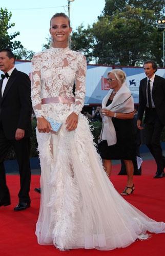 Фьямметта Чиконья на Венецианском кинофестивале