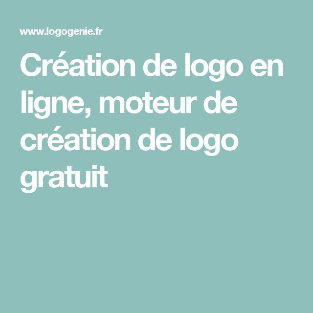 Création de logo en ligne, moteur de création de logo gratuit