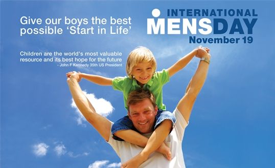 Happy International Mens Day. This years theme is Positive Male Role Models. Who is yours?