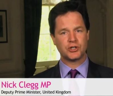 Video: Deputy Prime Minister Nick Clegg says equal marriage no longer a matter of 'if' in @Out4Marriage video