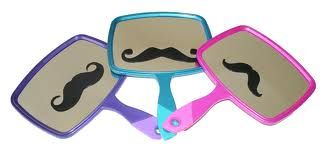 Mustache crafts for kids