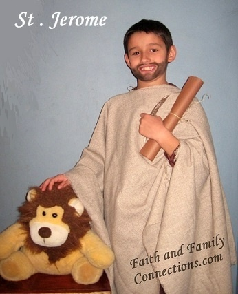 St Jerome Costume | Catholic Inspired ~Arts, crafts, games, and more!