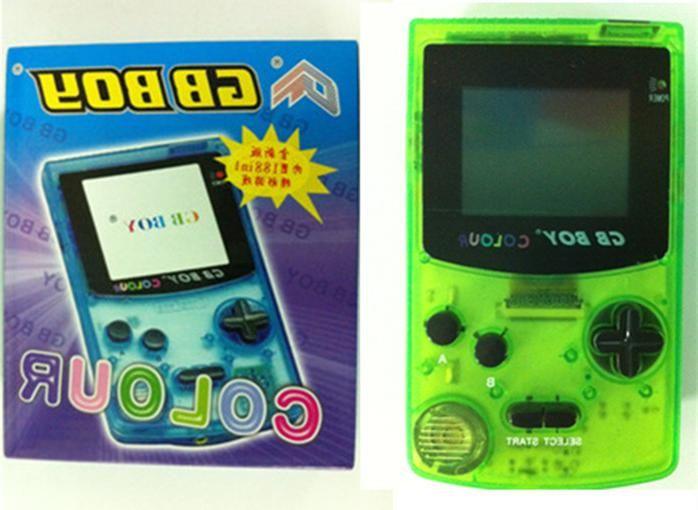 Портативная игровая консоль Kong Feng 2.7  Backlut playe , zelda, GBC-1