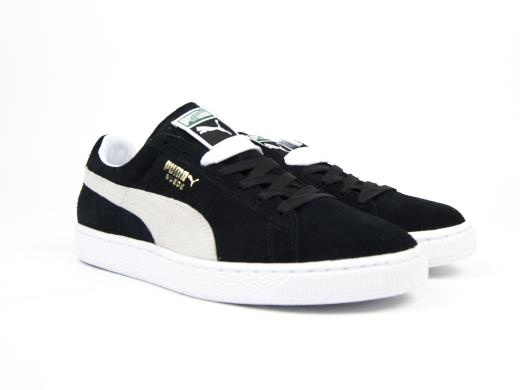 Puma Suede Classic + Sneaker - Black White: UK 10/US 11/EUR 44.5, Puma, Detail.Jsp?Pid=9=3007345=Froogle, £55.00, COMMONN - Nike - New Balance - Clae - Converse - Asics - The Quiet Life