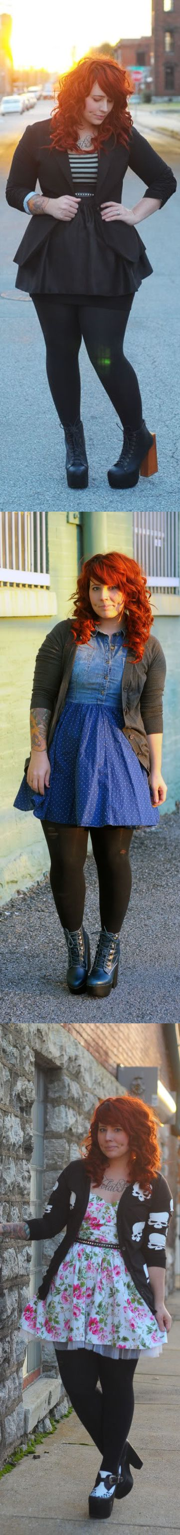 Kaelah Bee... This would be cute if I could find a similar skirt to tuck my chambray shirt into, instead of finding a new dress like that