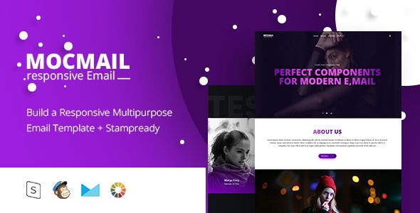 MOCMAIL - Responsive Email + StampReady Builder