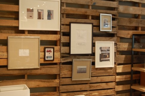 Pallet wall: Pallets Art, Pallet Walls, Wooden Pallets, Google Search, Photos Display, Display Ideas, Wood Pallets Wall, Pallet Art, Art Projects