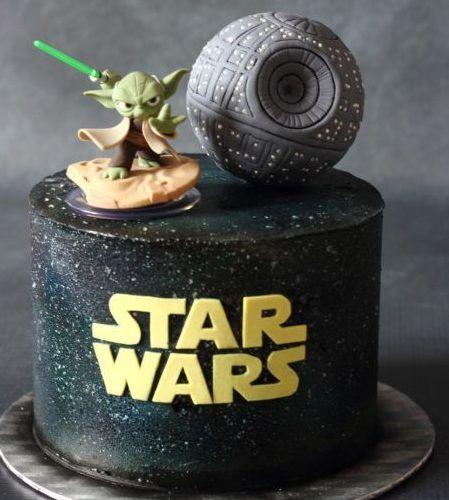 Tartas de Star Wars con Yoda