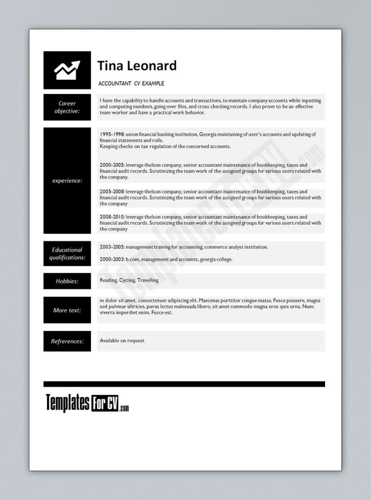 25+ unique Accountant cv ideas on Pinterest Job help, Resume - accounting resume