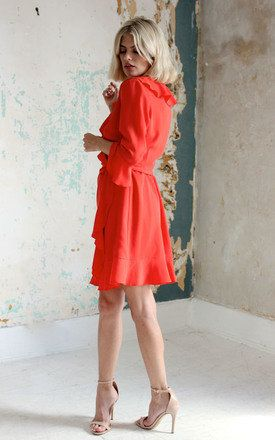 Agnes Frock Coral Product photo