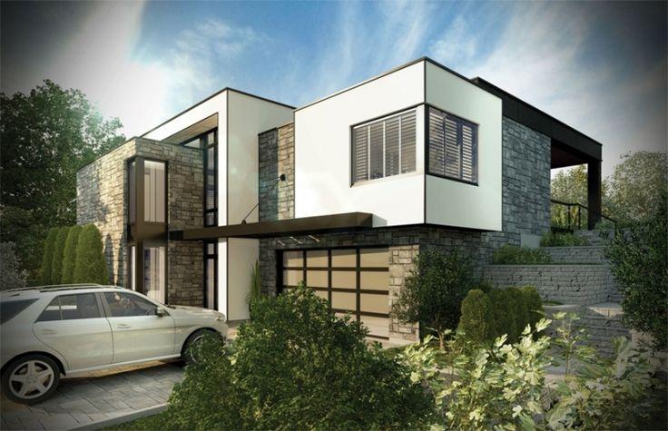 En plus de son architecture cubique très contemporaine, de son design unique qui unit l'intérieur à l'extérieur et de sa toiture droite à plusieurs niveaux, la Maison Tanguay 2013 révèle les dernières tendances en matière de décoration intérieure!