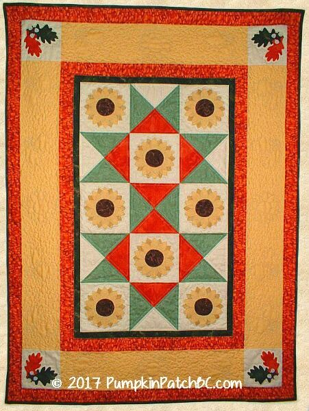 Sunflowers Wall Hanging PPP012-EIN