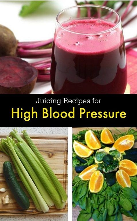 Juicing helps manage high blood pressure. Here are some recipes you can try to help lower blood pressure.