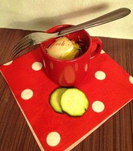 Mug cake courgette, curry et chèvre (pour 1 mug) - Le blog de Cook'N'co