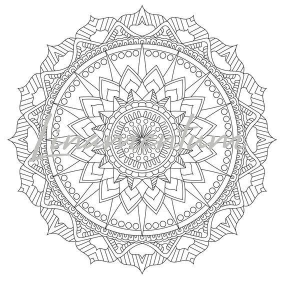 Pin On Mandala Printables