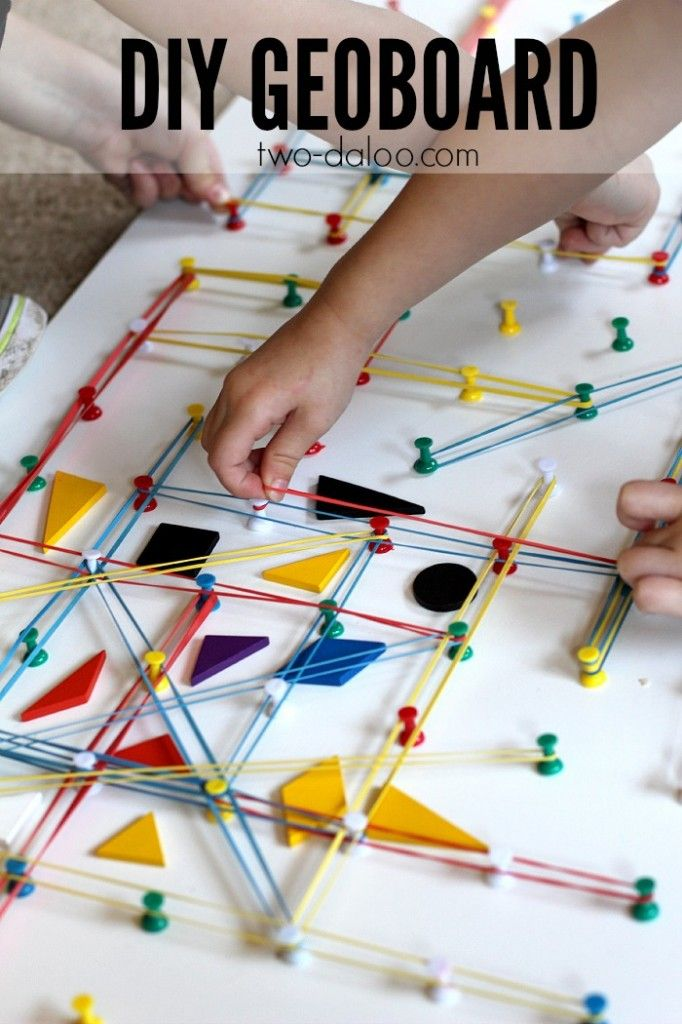 See how you can make your own DIY geoboard and get tons of inspiration for geoboard activities from talented kid bloggers!