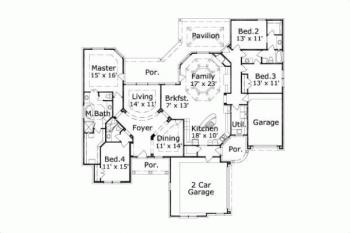 I Love This Floor Plan Its The Perfect One Stor additionally Eafb85f98d12eff4 8 Bedroom Ranch House Plans 7 Bedroom House Plans further 1 besides House Plans in addition 3 Car Garage House Plans 2 Story. on 1 5 story craftsman house plans