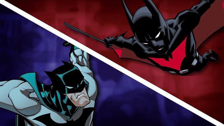 Batman vs.... BATMAN? *Double take* Vote for who would win--Bruce Wayne and his wits or Terry McGinnis and his high-tech suit--on #DCAllAccess! https://youtu.be/KInAjNhCSLM #Batman #dccomics #superman #manofsteel #dcuniverse #dc #marvel #superhero #greenarrow #arrow #justiceleague #deadpool #spiderman #theavengers #darkknight #joker #arkham #gotham #guardiansofthegalaxy #xmen #fantasticfour #wonderwoman #catwoman #suicidesquad #ironman #comics #hulk #captainamerica #antman #harleyquinn