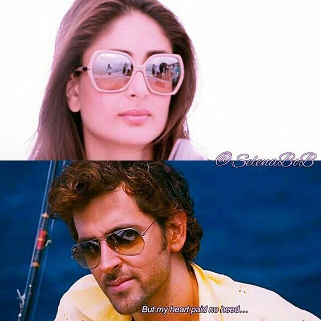 hrithik roshan & kareena kapoor  #hrithikroshan #karinakapoor #bollywood