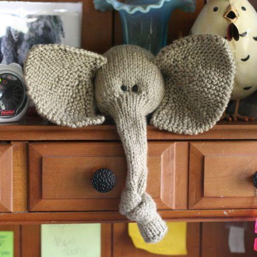 <3Knits Crochet, Crafts Art, Knots Trunks, Cutest Elephant, Crafts Hom, Knit Knits, Knits Toys, Crochet Knits, Knits Elephant