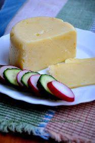 Kopalnia Smaków...: Domowy ser żółty