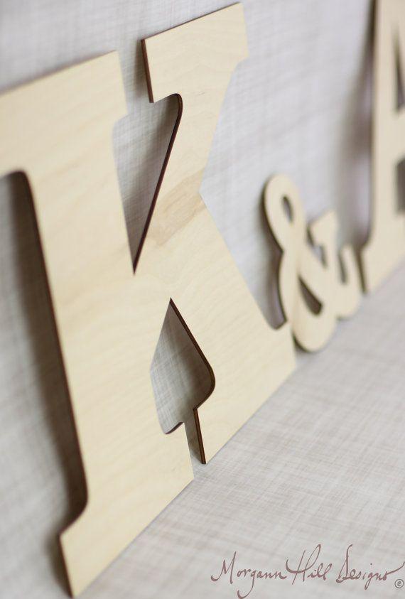 DIY Unfinished Wood Letters HUGE Rustic Wedding Decor Barn Rustic Chic (Item Number 130005)
