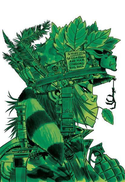 Top 19 des meilleures illustrations de Jamie Hewlett, le père de Gorillaz et Tank Girl
