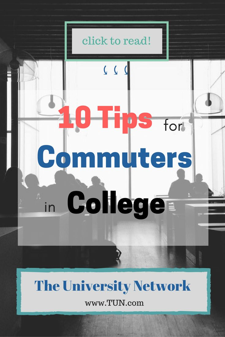 Commuting to college can be super frustrating at times, especially when you don't live too close to campus. Here are some simple tips and tricks to make your life as a commuter a little bit better.